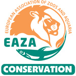 EAZA (European Association of Zoos and Aquaria) Conservation Logo